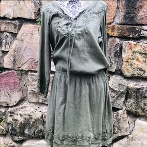 🎀NWT LAUREN BY RALPH LAUREN EMBROIDERED DRESS 8.